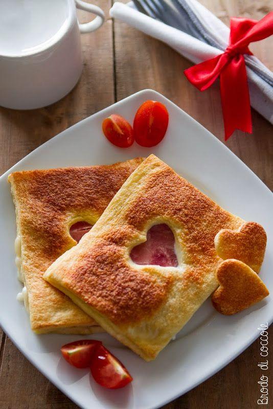 French toast (salati) al forno