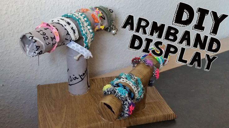 Diy Zelf Een Armbanden Standaard Maken, Hoge voor kettingen en lage voor armbanden