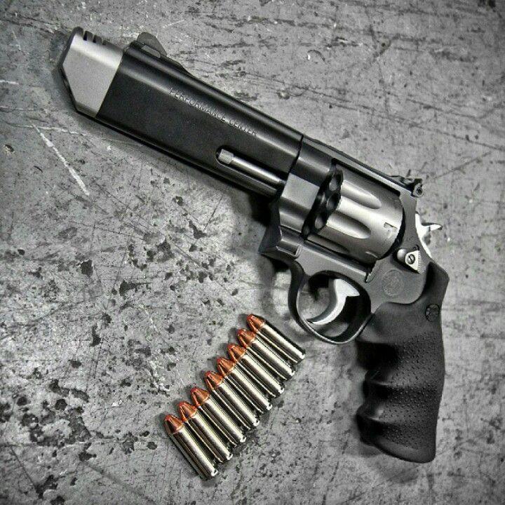 Smith Wesson Performance Center 627 V Comp .357 MAG 8 Shot ...