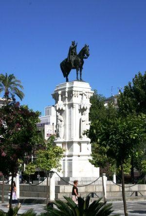 Monumento a San Fernando. Plaza Nueva, Sevilla. #Sevilla #Seville #sevillaytu @sevillaytu