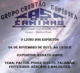 Grupo Cristão Espírita Casa do Caminho Convida para a sua Palestra Pública – Belford Roxo – RJ - http://www.agendaespiritabrasil.com.br/2015/10/30/grupo-cristao-espirita-casa-do-caminho-convida-para-a-sua-palestra-publica-belford-roxo-rj-32/
