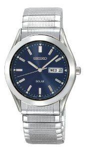Seiko Mens Sne057 Solar Watch