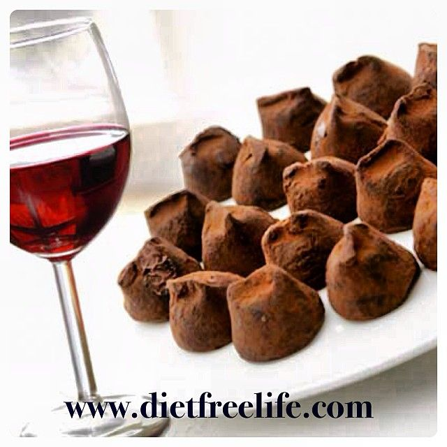 Who says you can't enjoy chocolate with wine? With the Diet Free Life System you can enjoy both #dietfreelife www.dietfreelife.com