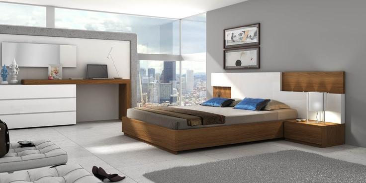 DORMITORIO 4. Dormitorio modular de 286 cm de ancho.