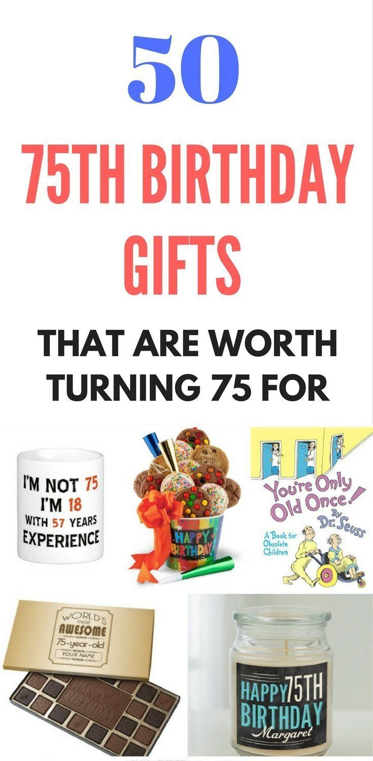129 Best 75th Birthday Gift Ideas Images On Pinterest Anniversary