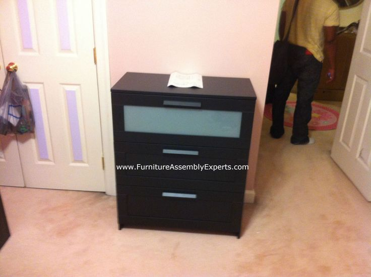 Ikea Brimnes 3 Drawers Chest Assembled In Baltimore MD For A Customer Kid`s  Room