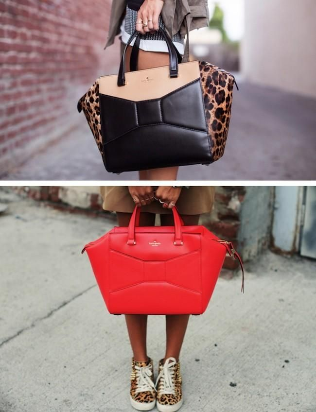 Kate Spade bags, I want the red one