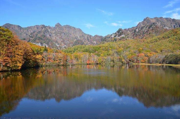 Mirror lake, Togakushi  戸隠 鏡池