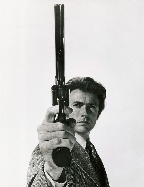 "~ ""Go ahead, make my day"" is a catchphrase written by Charles B. Pierce and spoken by the character Harry Callahan from the 1983 film Sudden Impact. Clint Eastwood"