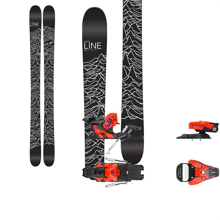 Line Skis Blend Skis + Salomon STH2 13 WTR Ski Bindings 2017