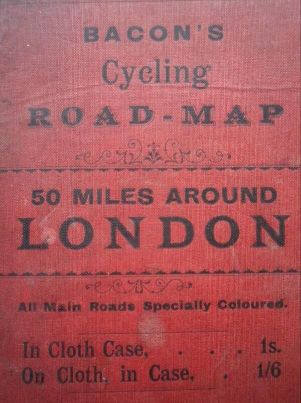 Cycling map via richardovery 22 best Retro