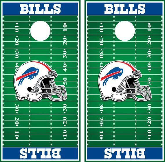 buffalo bills cornhole board wraps - Cornhole Board Wraps