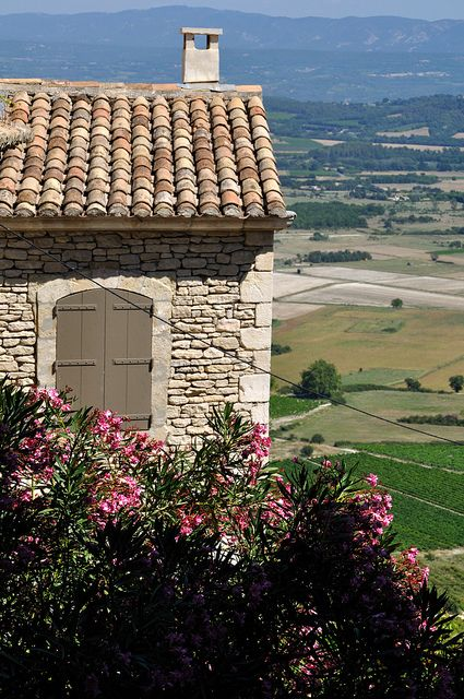 Gordes, Luberon Stone on Wall