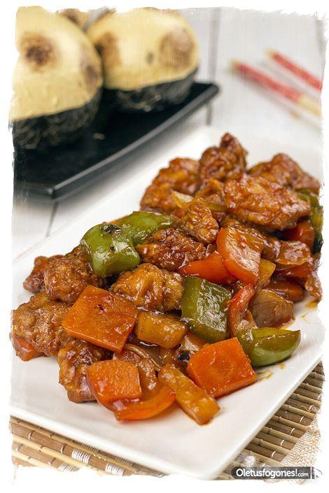 Cerdo agridulce - Cocina china [Tradicional]