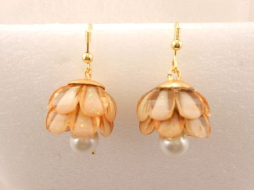 Beautiful-One-Pair-Women-Bollywood-Fashion-Earring-Gold-Overlay-E18