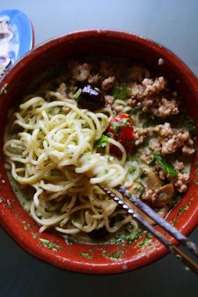 簡単8分でエスニックランチ! ココナッツミルクスープのアジアンヌードル そうめん活用可 - 豊菜JIKAN×スパイス大使 -|レシピブログ