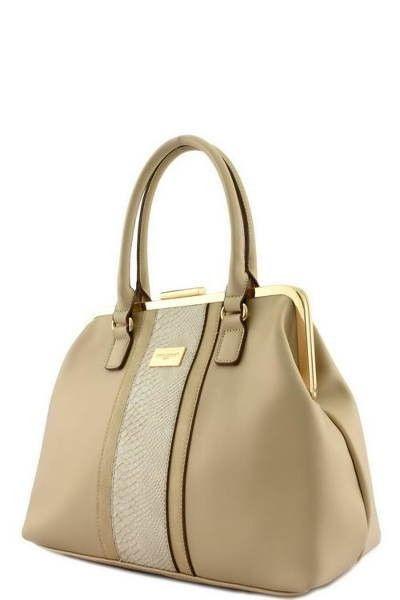Fashion Animal Print Beige Clutch Bag