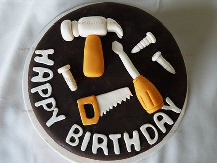 Tools cake - by SweetOwl @ CakesDecor.com - cake decorating website