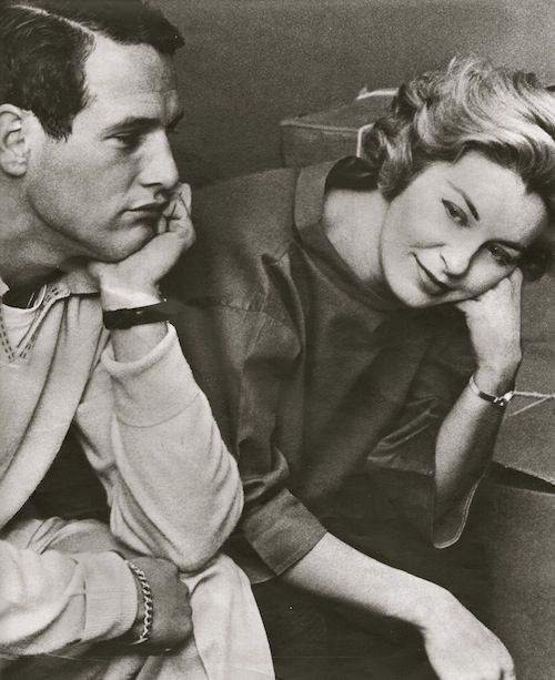 Paul Newman and Joanne Woodward, 1959