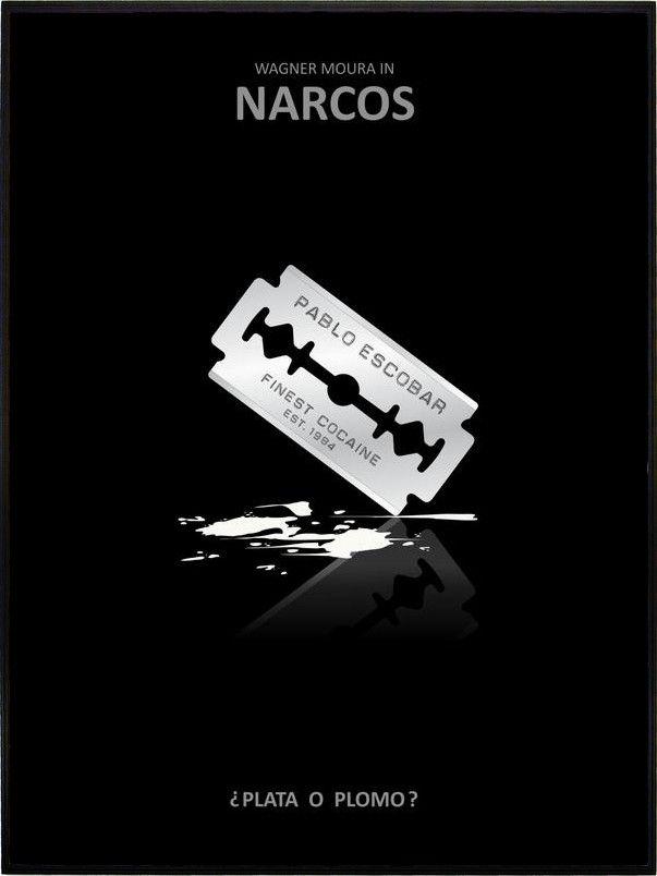 NARCOS 05 - PABLO ESCOBAR - COCAINE