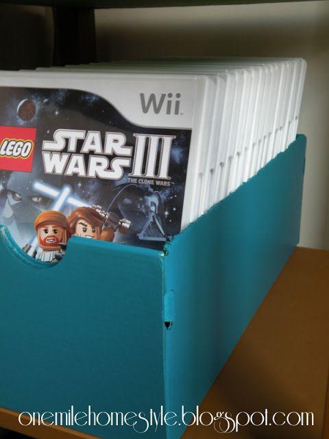 Video game storage