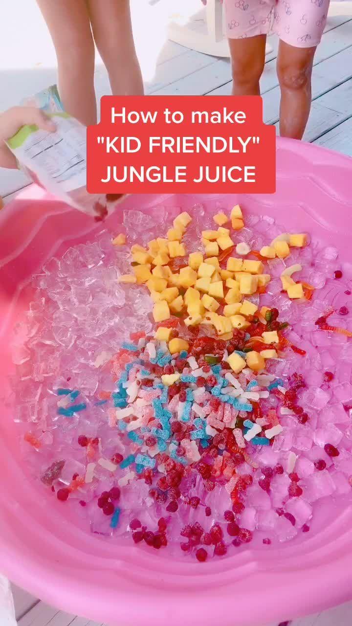 Pin By Meganriley Walton On Tik Tok Jungle Juice Kid Friendly Friendly
