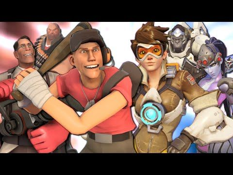 Video Game Rap Battle - Team Fortress 2 vs. Overwatch #games #teamfortress2 #steam #tf2 #SteamNewRelease #gaming #Valve