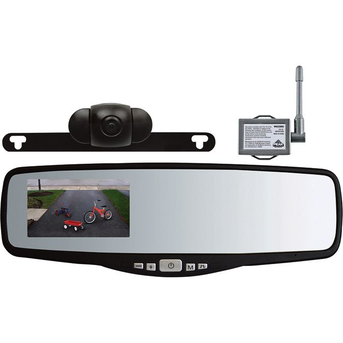 Peak Wireless Rearview Mirror Backup Camera System