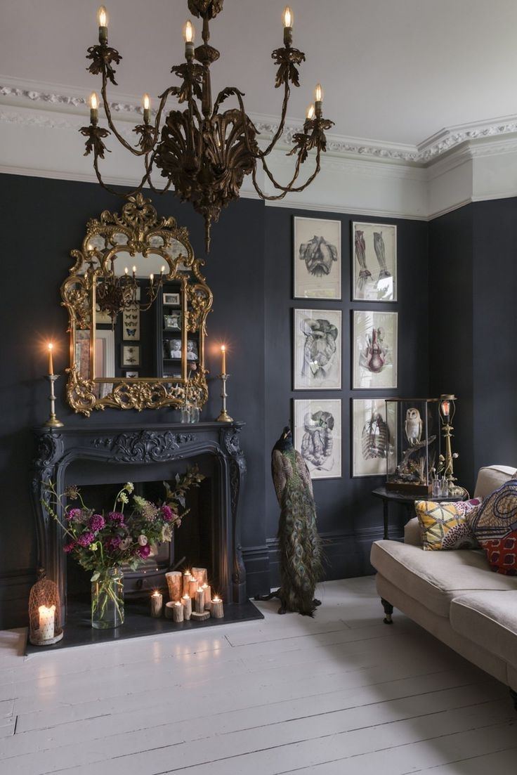 Image Result For Modern Gothic Bedroom In 2019