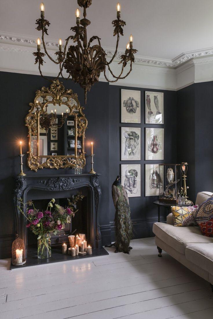 Image result for modern gothic bedroom