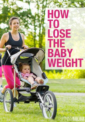 Here are 7 real mom tips to help you lose the baby weight and keep it off for good!