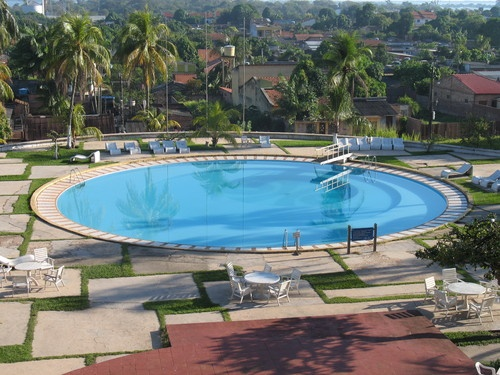 Spent my childhood at this pool Amazon Park Hotel, Santarem, Brazil