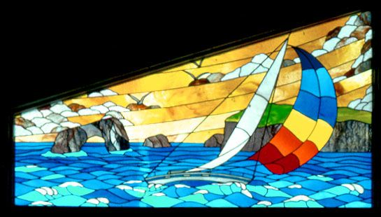 stained glass,beveled glass, leaded, repair, custom designs, architectural, traditional, nature