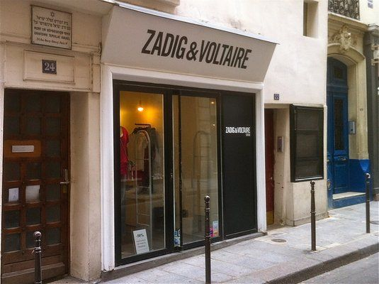 Stock Zadig et Voltaire. Outlet shopping at one of my fave brands.