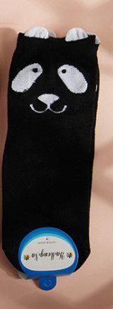 New real caramella character cotton brand meias femininas warm cute cartoon panda korean socks
