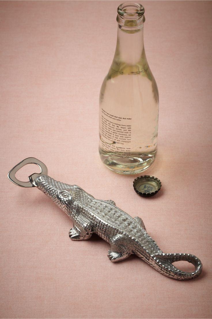 Alligator Bottle Opener from BHLDN