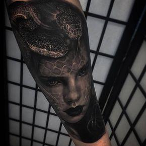 Simbología de tatuajes: Medusa