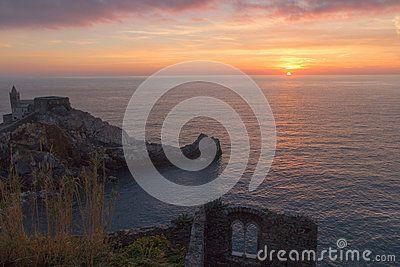 Sunset in Portovenere - Tramonto