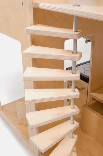 Design dla dzieci i nie tylko...: Domek dla lalek (Liliane)