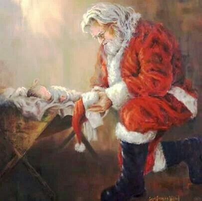 I have always loved this Christmas artwork.