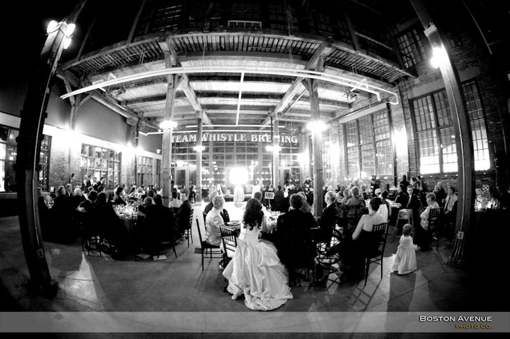 love the Steam Whistle Brewery for a wedding reception!