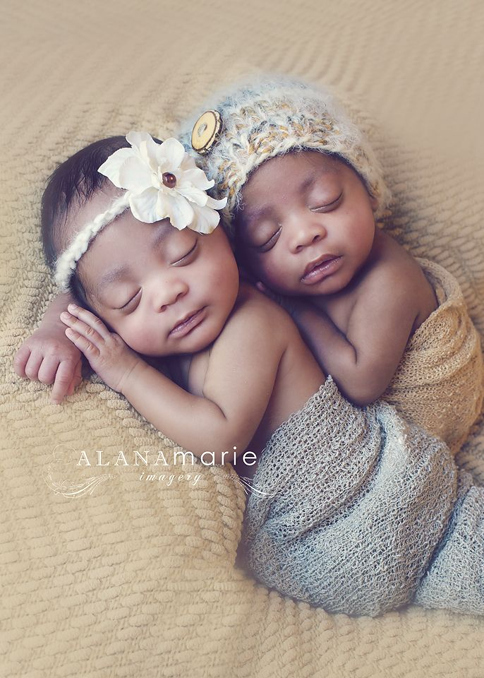 Newborn twin photography newborn boy and girl twin portrait so cute alana