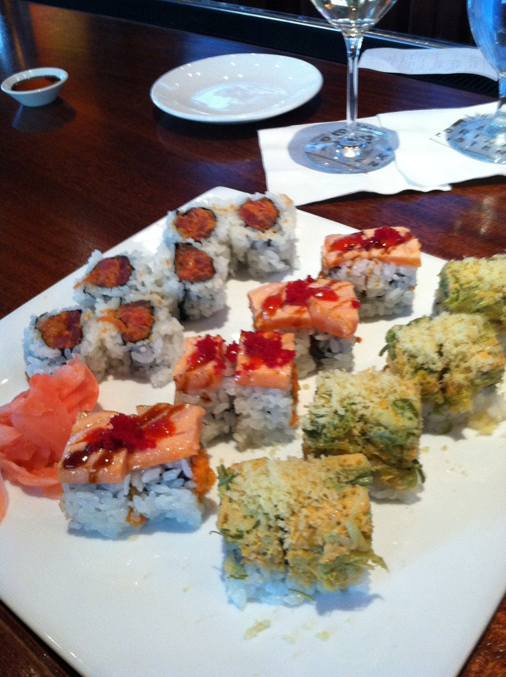 Sushi that did not disappoint. @ Hamilton DC .