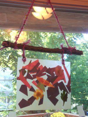 Montessori Mama: Fall Window Hangings