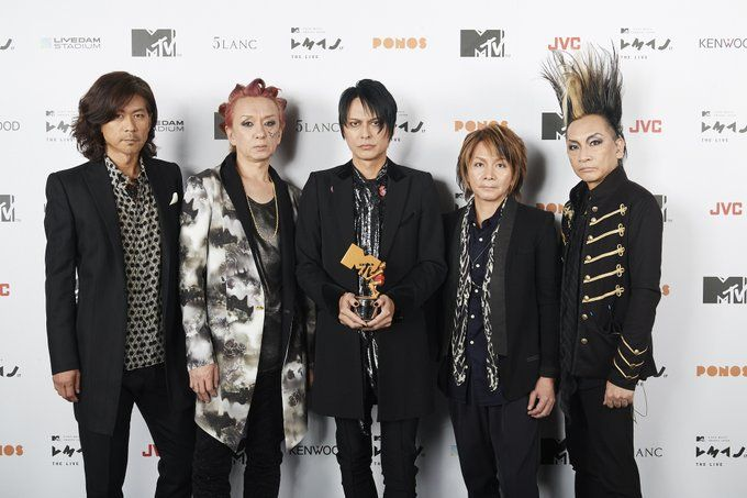 MTV Japan @MTV_JAPAN 【MTV VMAJ 2017 -THE LIVE-】デビュー30周年を迎える奇跡のバンド、#BUCKTICK にInspiration Award Japanが贈られました!本日の模様は10/1(日)21時よりMTVにてOA! #Bucktick #MTVJAPAN #VMAJ