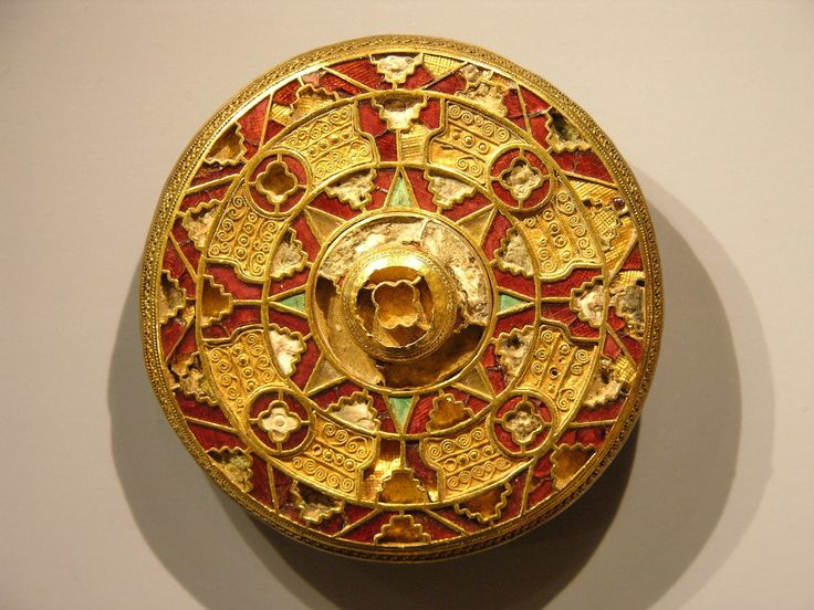 17 best images about anglo saxon 7th century on museums and garnet pendant