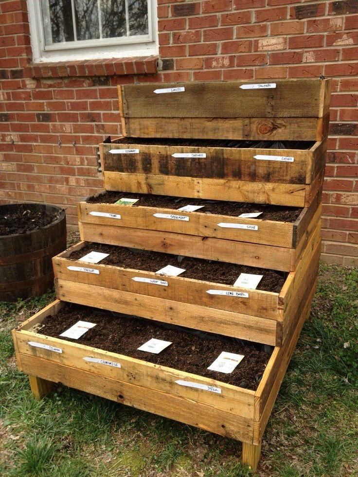 Herb Garden Box Ideas Part - 47: 566 Best Garden And Farm Images On Pinterest   Gardening, Vegetable Garden  And DIY