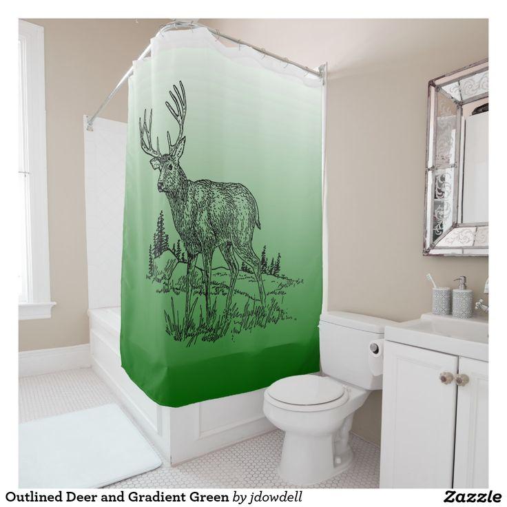 Mesmerizing Green Chevron Shower Curtain Ideas - Today designs ...
