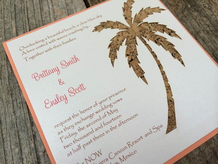 c70b656c7ce895847c30e1e88a744e8b palm trees party invitations 22 best laser cut party invitations images on pinterest,Laser Cut Party Invitations