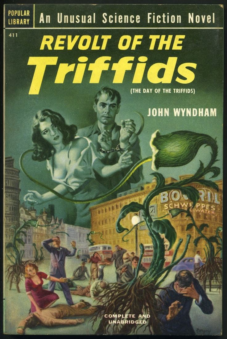 Science Fiction Book Cover Art : Best images about day of the triffids on pinterest